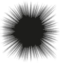 Comic blast halftone background EPS 10 vector image