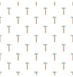 Hammer tool pattern cartoon style vector