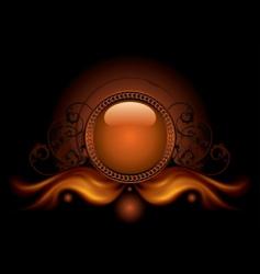 magic ball vector image vector image