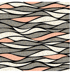 Seamless wave pattern for textile and vector