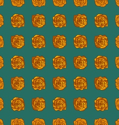 Golden rose pattern vector