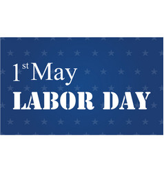 Labor day background design style vector