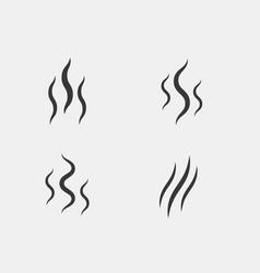 smell aroma stream smoke vector image