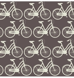 Bicycle pattern isolated icon design vector