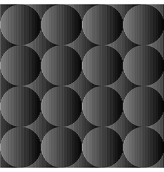 Design seamless monochrome sphere pattern vector image