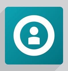 flat profile icon vector image