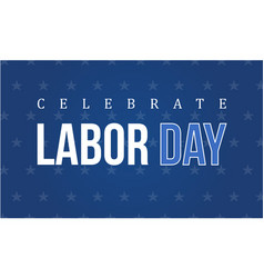 Labor day background collection style vector