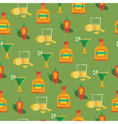 Tequila pattern vector