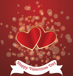 Card for valentines day vector