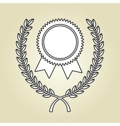 Award winner design vector
