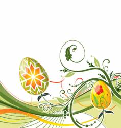 background Easter vector image vector image