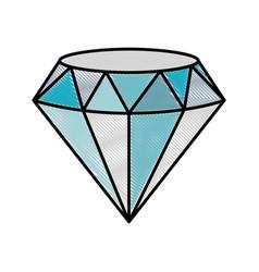 Diamond icon image vector