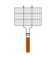 Grilling basket vector