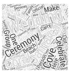 Jamaica vacation wedding word cloud concept vector