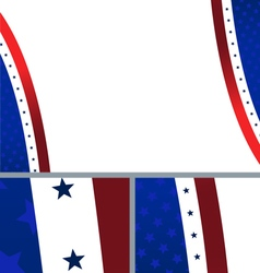 Patriotic American Stars and Stripes Background vector image