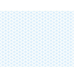 seamless isometric blue grid backdrop vector image