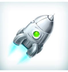 Spacecraft icon vector