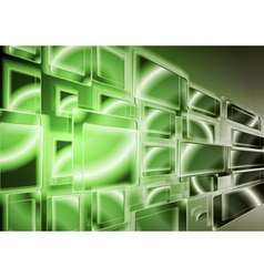 Technology green design vector