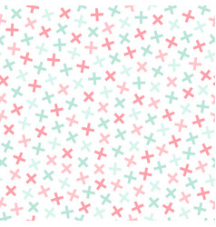 Colorful seamless memphis pattern in soft colors vector