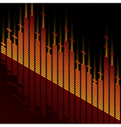Digital style equalizer vector