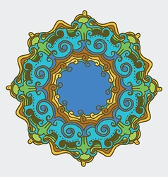 Nature mandala vector