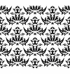 Damask victorian seamless pattern vector