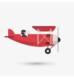 Airplane design editable vector