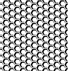 Hexagons op art texture vector