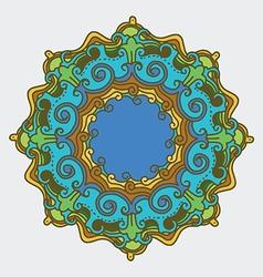 Nature mandala vector
