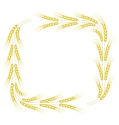 Wheat frame vector