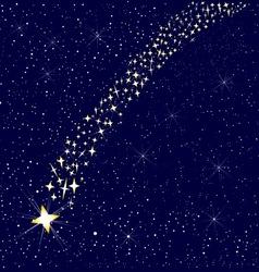 Falling Star vector image