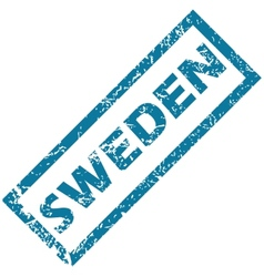 Sweden rubber stamp vector