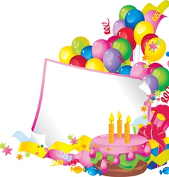Birthday celebration vector