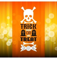 Halloween party poster typography letters font vector