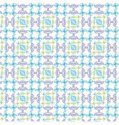 Multicolour seamless pattern vintage design on vector