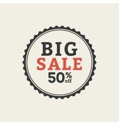 sales label vector image