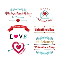 valentines day symbol vector image