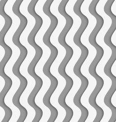 Perforated paper with vertical thick waves vector