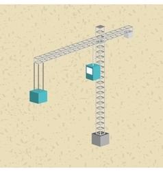 Isometrics industrial icon design vector