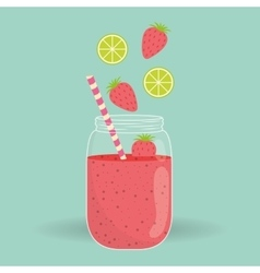 Smoothie icon design vector