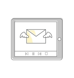 E-mail video marketing approaches and methods vector