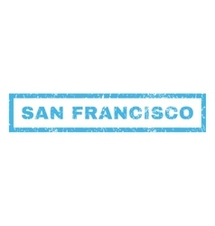San francisco rubber stamp vector