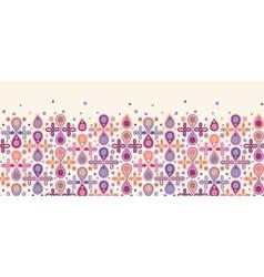 Abstract drops horizontal seamless pattern vector image