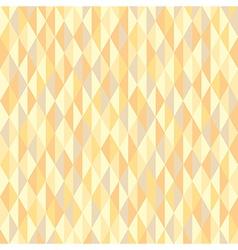 abstract yellow triangle vector image vector image