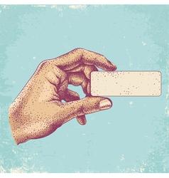 Hand color vector