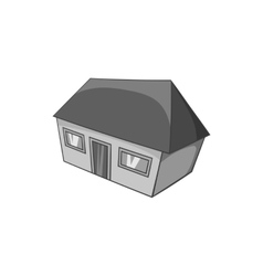 Large residential house icon vector image vector image
