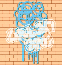 Urban graffiti vector
