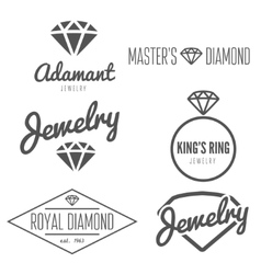 Set of logo emblem label print sticker or vector