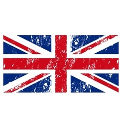 The flag great britain vector