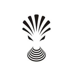 Alien creature icon vector